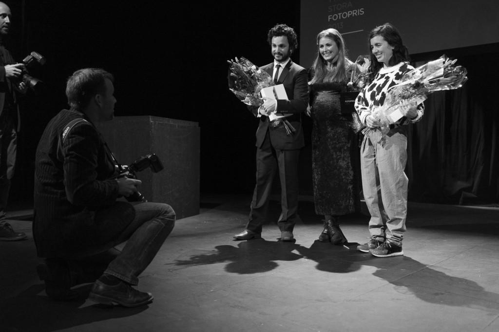 Martin von Krogh, Hannah Modigh och Trinidad Carillo